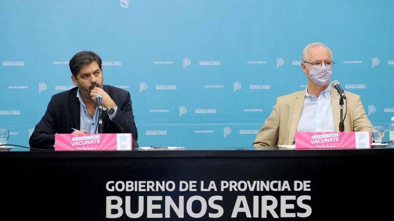 Daniel Gollán y Carlos Bianco.