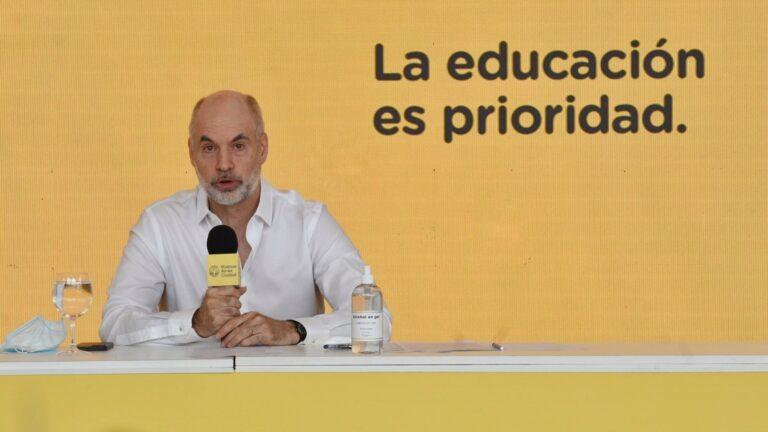 En segunda ola de Covid-19 Horacio Rodríguez Larreta en contra de clases virtuales