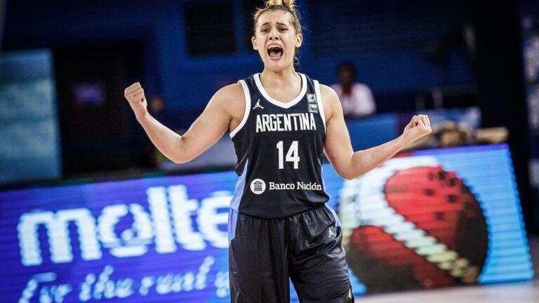 Florencia Chagas WNBA Selección