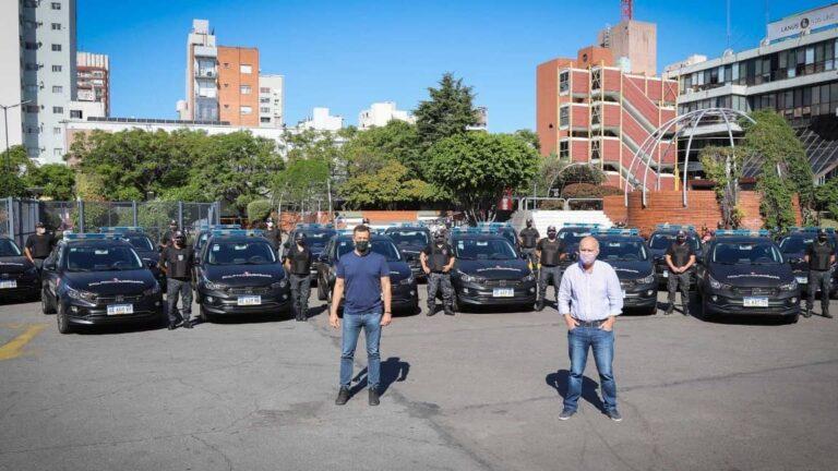 Nuevos patrulleros en Lanús Néstor Grindetti