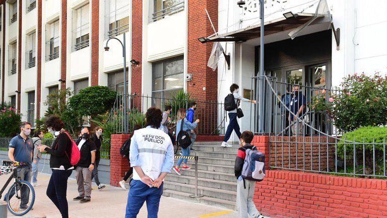 Vuelta a clases presenciales CABA Colegio Ort
