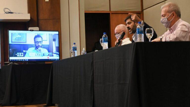 Carlos Bianco, jefe de Gabinete bonaerense, anunció obras para el Conurbano