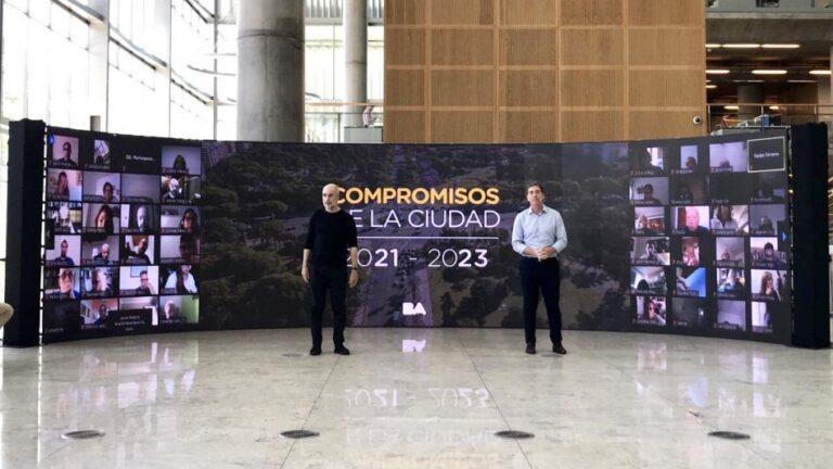 Horacio Rodríguez Larreta y Diego Santilli anuncian las metas para la Ciudad 2023