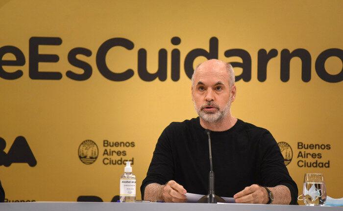 Horacio Rodríguez Larreta anuncia clases presenciales en CABA