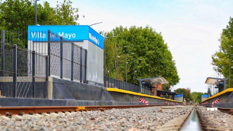 Nueva estación de Villa de Mayo del Belgrano Norte