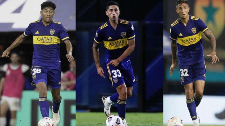 Medina, Varela y Almendra: los juveniles de Boca surgidos del Conurbano