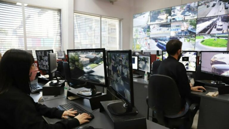 Centro Monitoreo Cámaras Seguridad Lanús