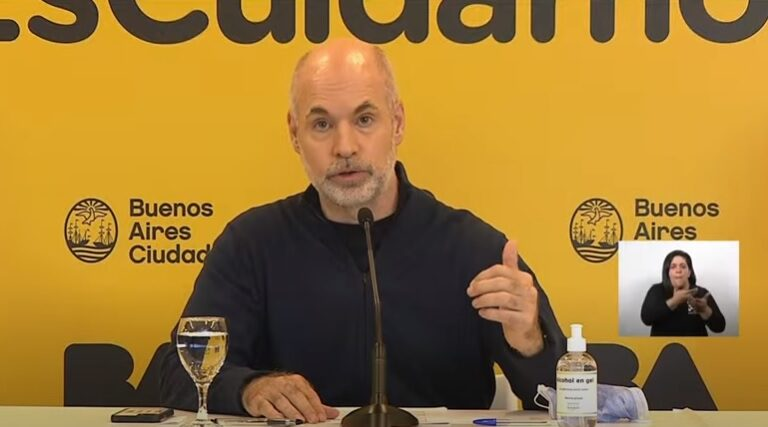 Covid-19 Horacio Rodríguez Larreta Flexibilizaciones Capital