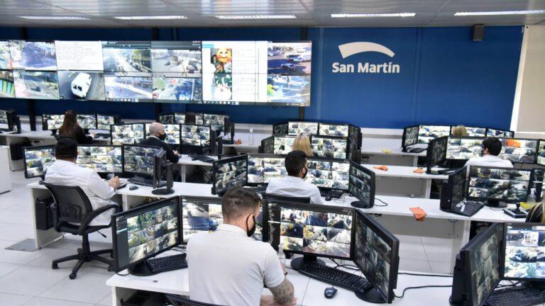 100 Nuevos Cámaras Seguridad San Martín
