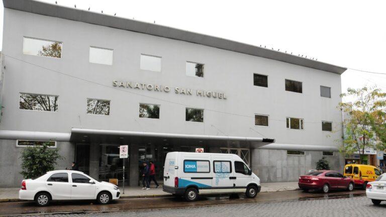 Covid-19: el Sanatorio San Miguel fue recuperado por la Provincia.