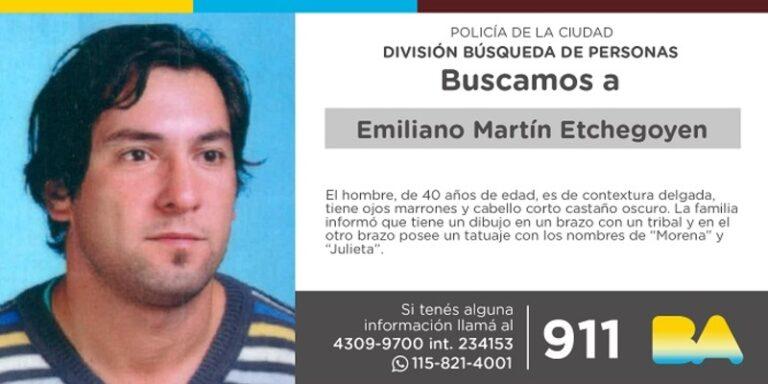Berazategui Vecino Desaparecido Emiliano Etchegoyen