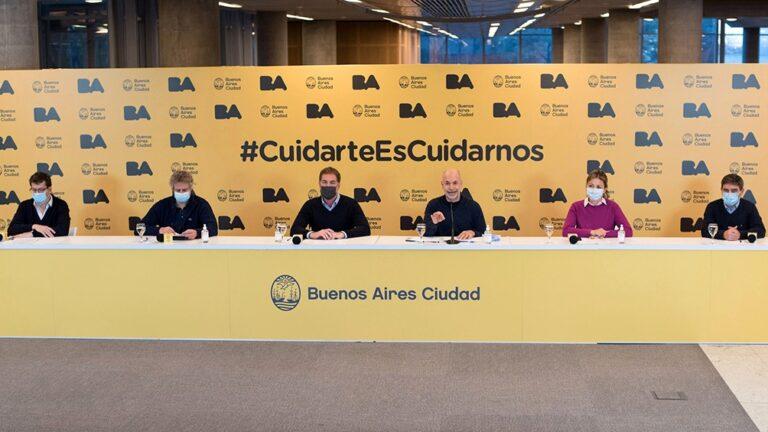 Horacio Rodríguez Larreta Anunció Flexibilizaciones Covid-19 Capital