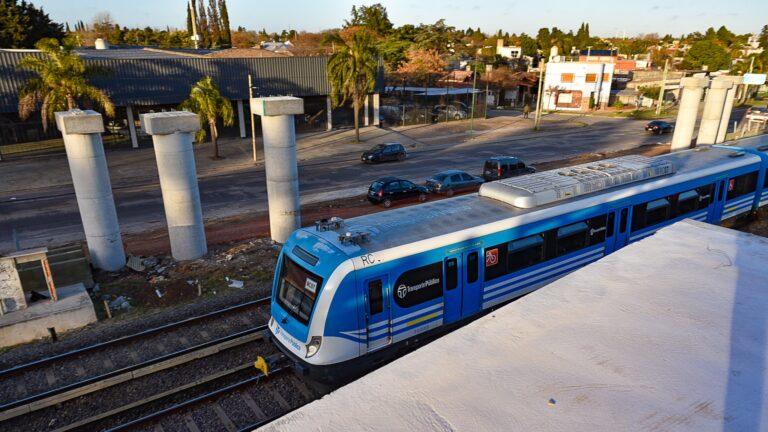Puentes Ituzaingó Vías Ferrocarril Sarmiento