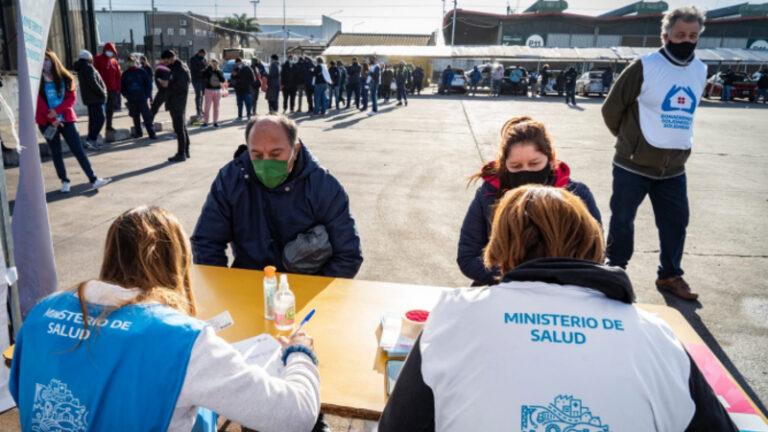 Vacunación Covid Mercado Central