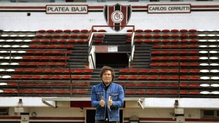Javier Milei, el que soñaba con atajar en Chacarita y ahora quiere volar más lejos en la política