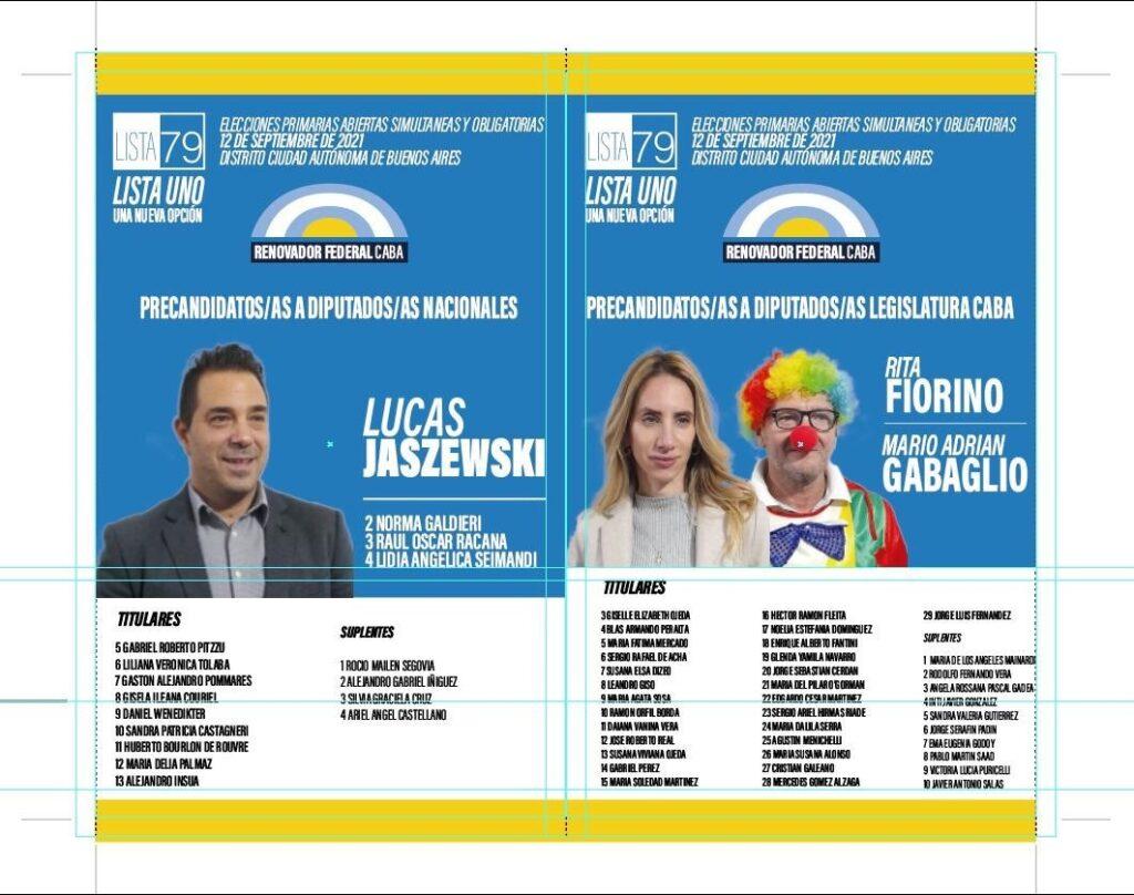 Payaso Marulito Candidato Legislador CABA