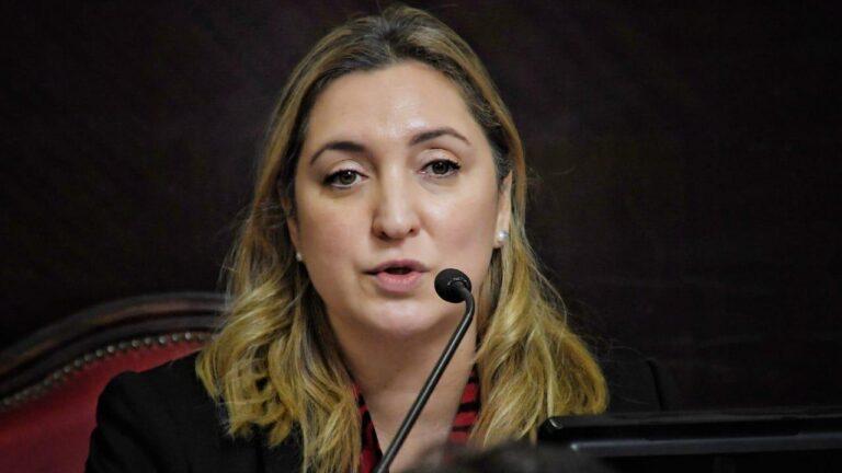 La senadora provincial Aldana Ahumada defendió la presencialidad en las escuelas