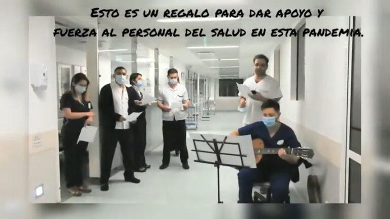 Sanatorio Anchorena San Martín Música Pandemia Covid
