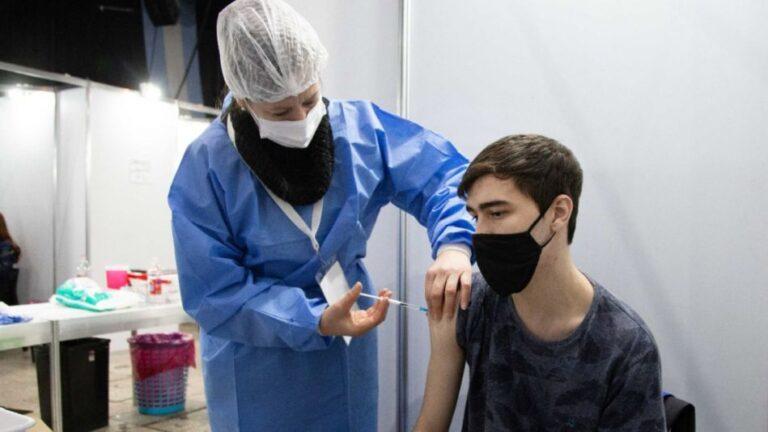 En la Provincia comienza la vacunación contra el Covid-19 para mayores de 12 años.