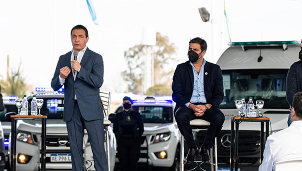 Florencio Varela refuerza la salud y la seguridad.
