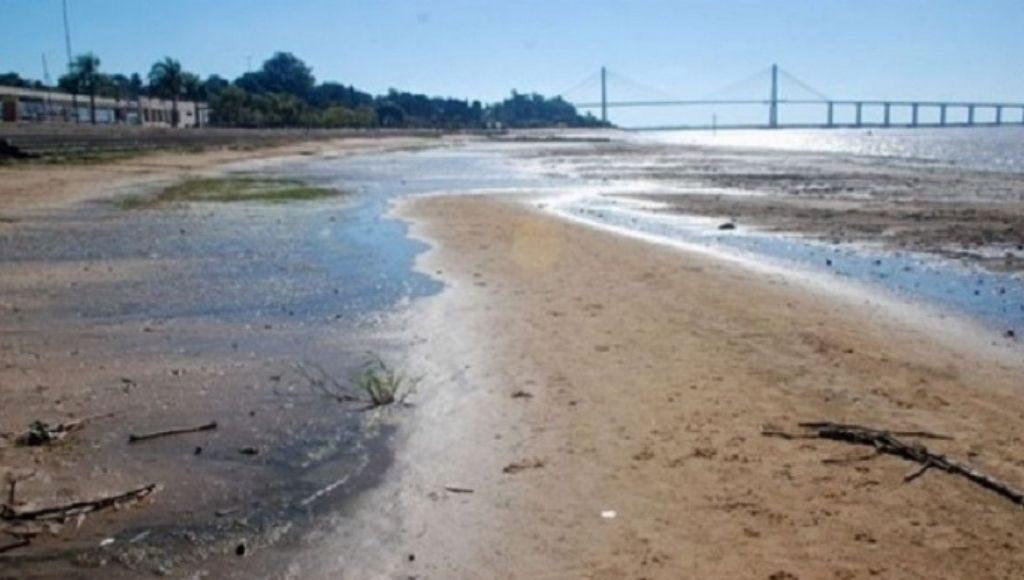 Corrientes Bajante Ríos Paraná Uruguay