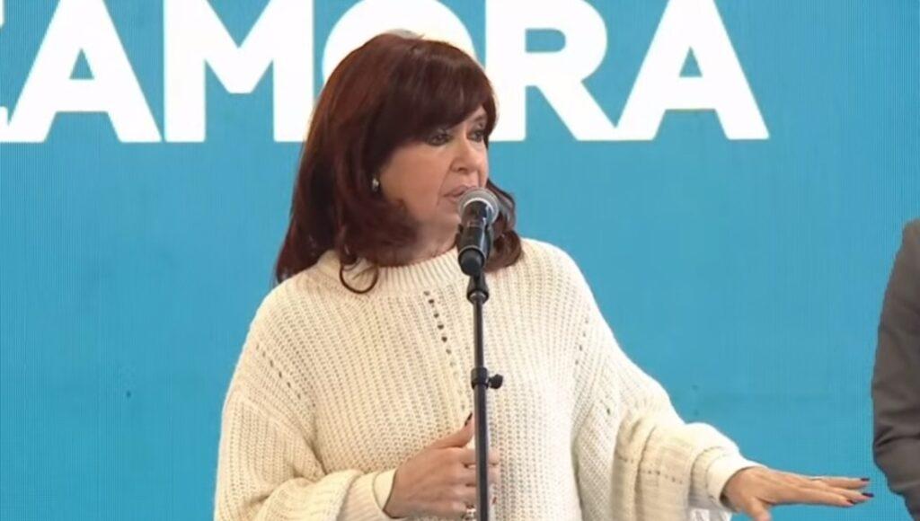 Cristina Kirchner Acto Lomas de Zamora Qunita