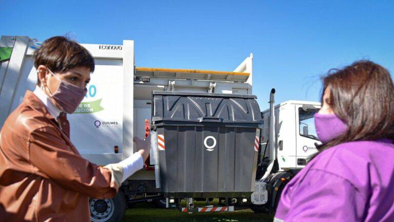La intendenta de Quilmes dijo que la basura es un tema prioritario.