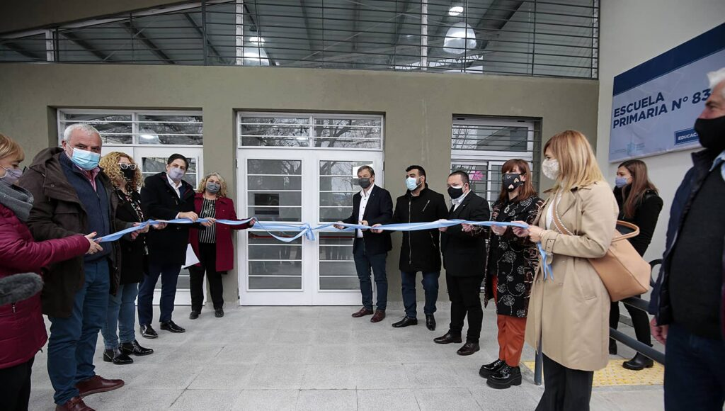 Inauguración Escuela Almirante Brown Nicolás Trotta Mariano Cascallares