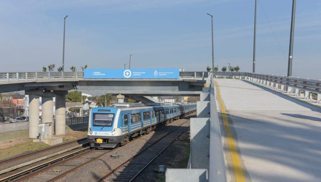 Ituzaingó Puentes Ferrocarril Sarmiento
