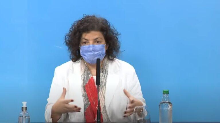 Carla Vizzotti Vacunas Covid-19 Combinación Dosis