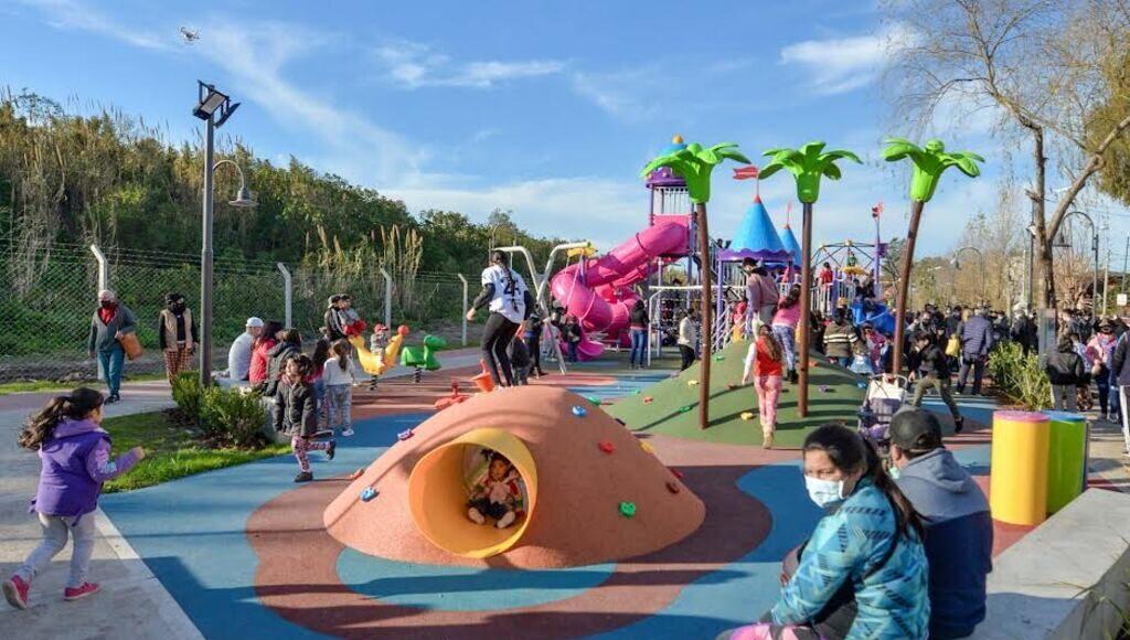 El nuevo parque público de Virreyes