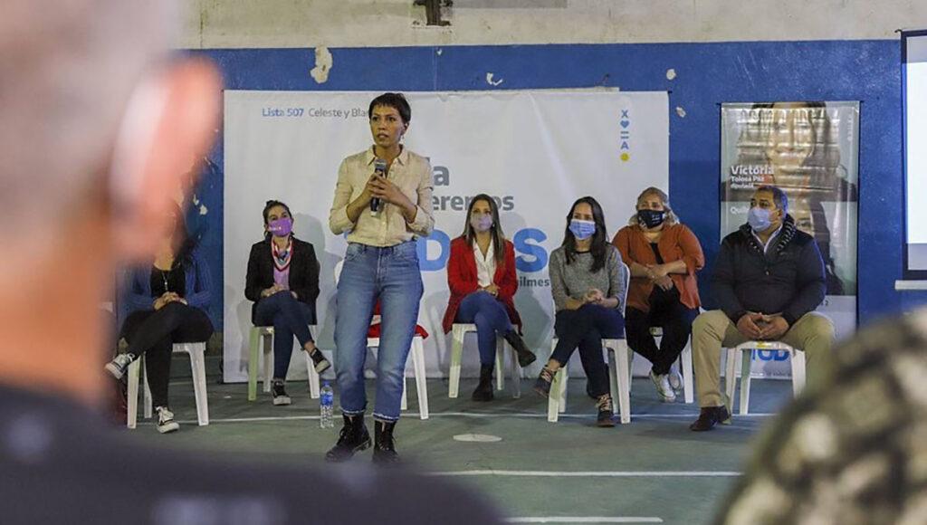Mayra Mendoza, intendenta de Quilmes, y referente de La Cámpora.