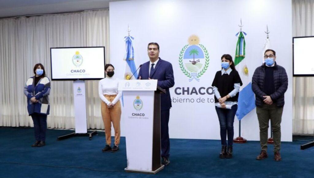 Jorge Capitanich analizó la situación financiera de Chaco