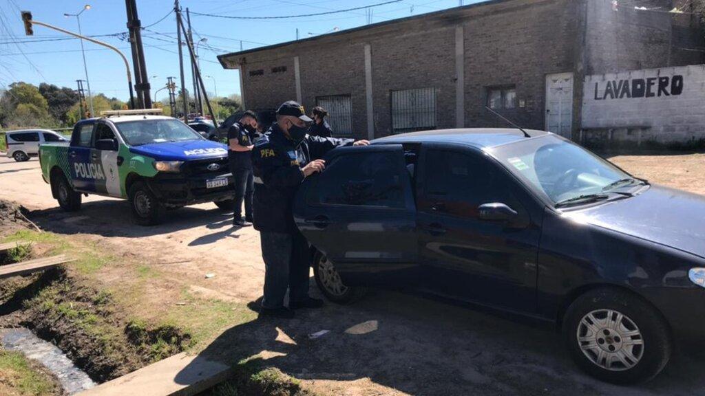 Luego de la detención, fue trasladado inmediatamente a una comisaría de Cañuelas.