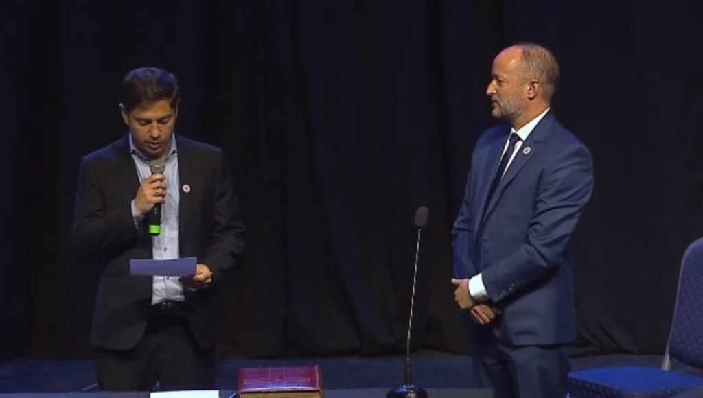 Axel Kicillof Jura Nuevos Ministros Provincia Martin Insaurralde