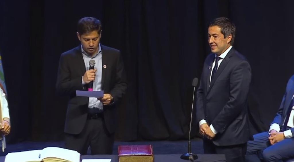 Axel Kicillof Jura Nuevos Ministros Leonardo Nardini