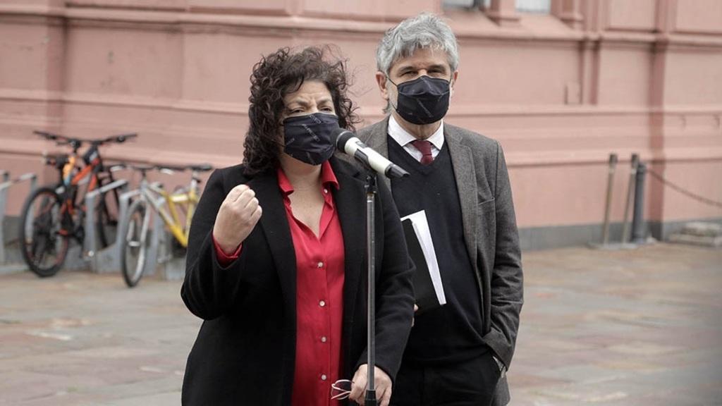 Barbijo Coronavirus Ciudad Nación Grieta Carla Vizzotti Daniel Filmus