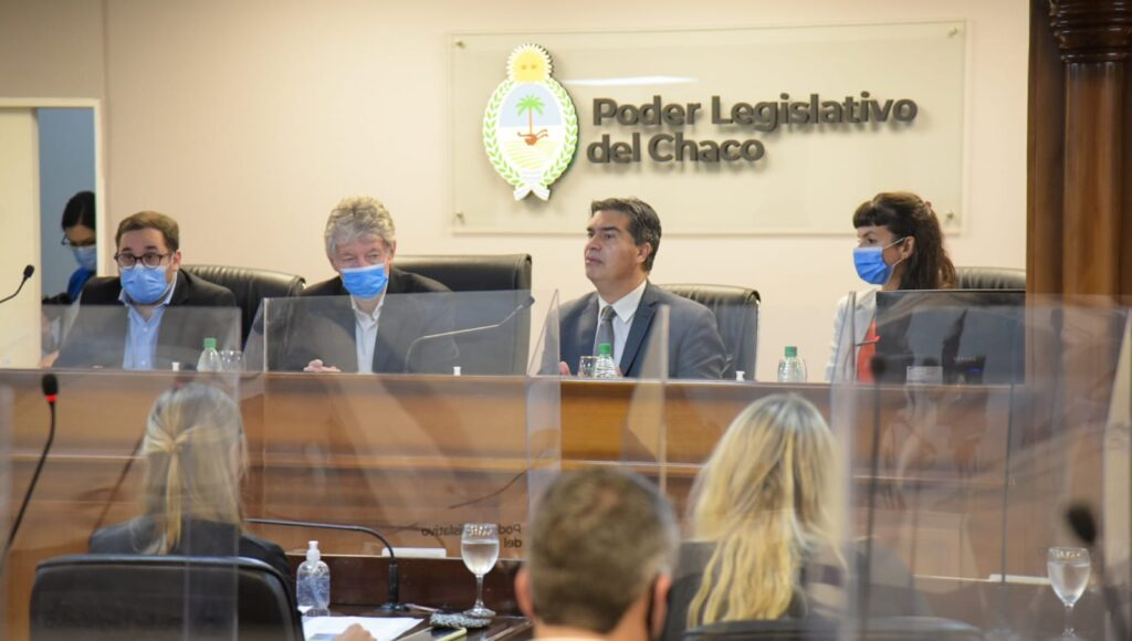 Chaco Presupuesto 2022 Jorge Capitanich