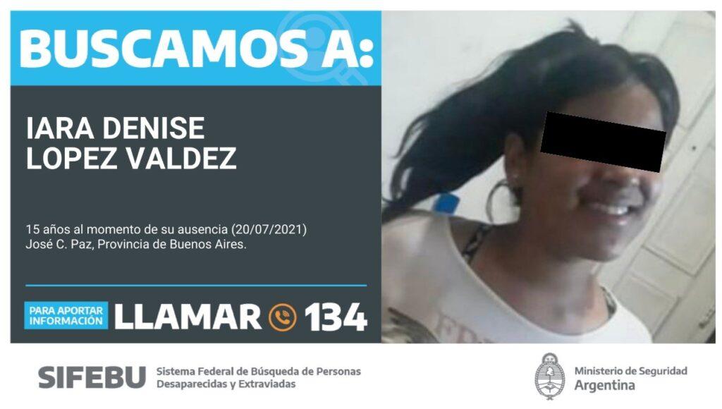 José C. Paz: tiene 15 años, reapareció tras 68 días ausente y denuncian que la secuestró una red de trata