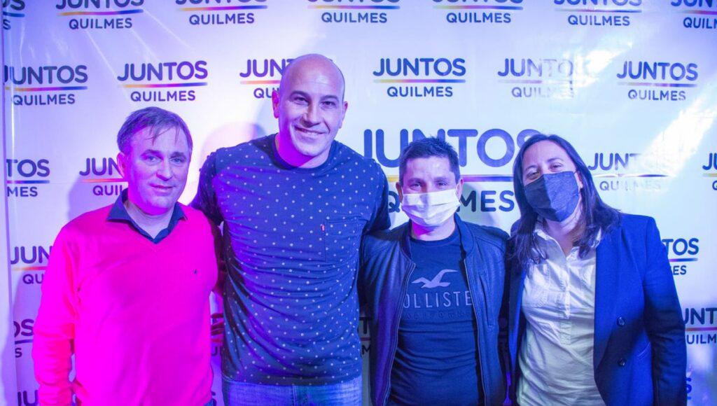 Martiniano Molina, el gran ganador de las elecciones en Quilmes.