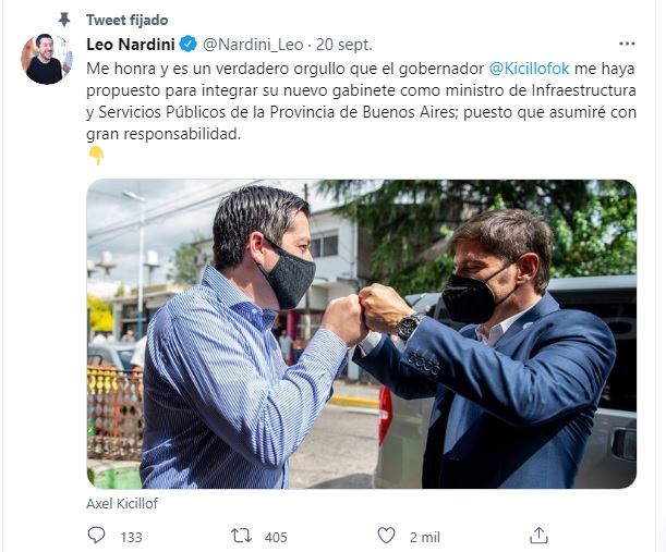 Quién es Noelia Correa, la intendenta interina que ya está en funciones en Malvinas Argentinas