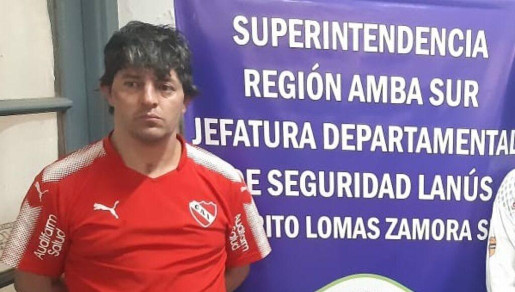 Loquillo Rodríguez Independiente Avellaneda Batalla Campal Barra Brava