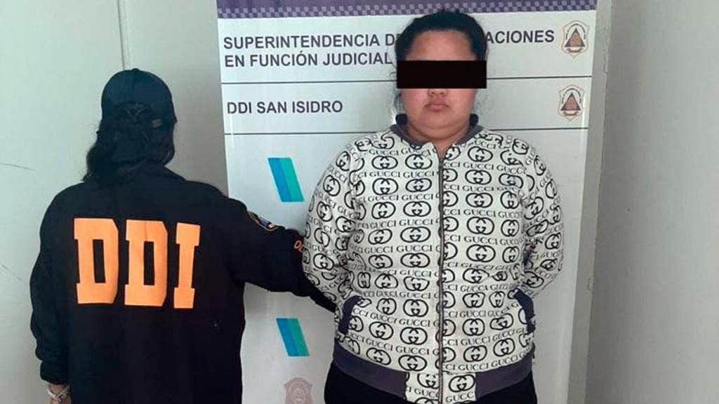 Narco Niñera Detenida Robo Boulogne