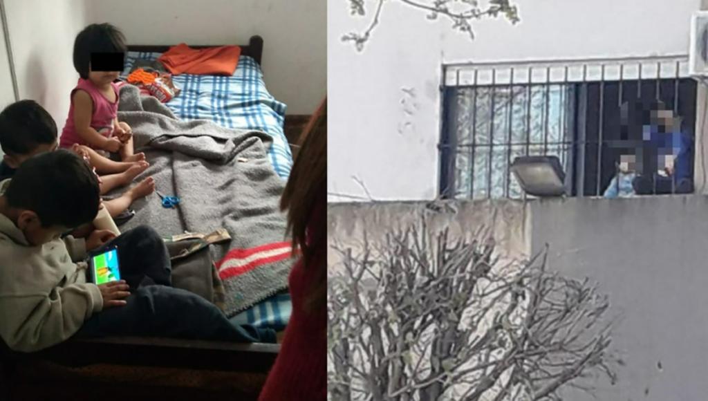 Los tres hermanitos abandonados por su madre en La Plata