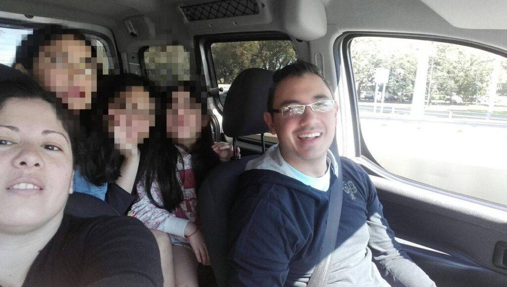 La desgarradora despedida de la esposa del policía asesinado en Caseros