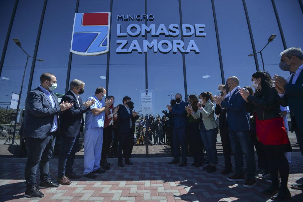Axel Kicillof Lomas de Zamora Hospitales (2)