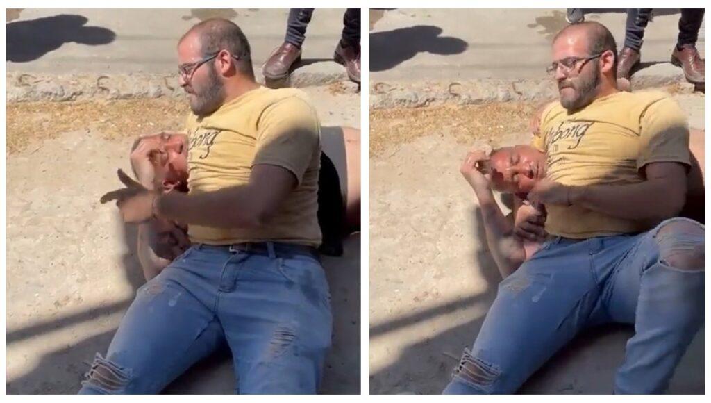 """Un justiciero atrapó a un ladrón en Ramos Mejía y le dio consejos: """"Si amás a tu mamá, no hagas esto"""""""