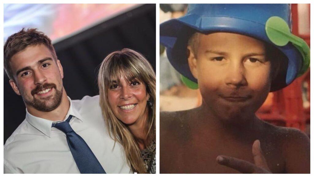 Una emotiva carta y un álbum de imágenes: así despidió su mamá al rugbier Lucas Pierazzoli