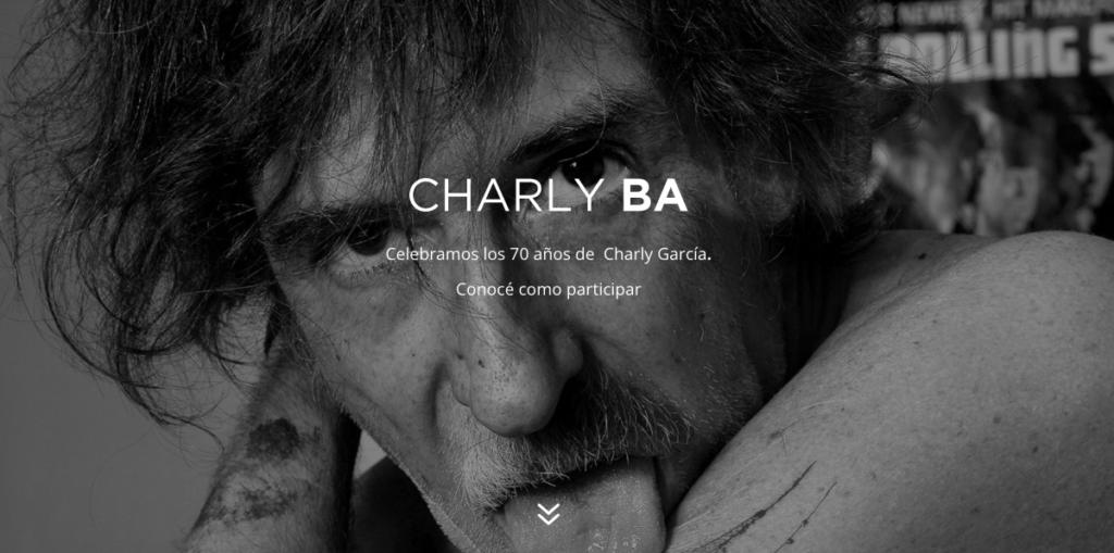 Los 70 años de Charly García