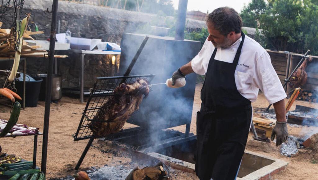 Lucas Trigos Chef San Isidro Exportación